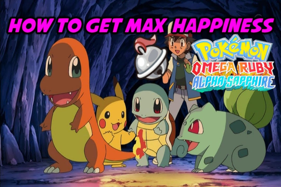 How To Get Max Happinessfriendship Pokemon Omega Ruby Alpha