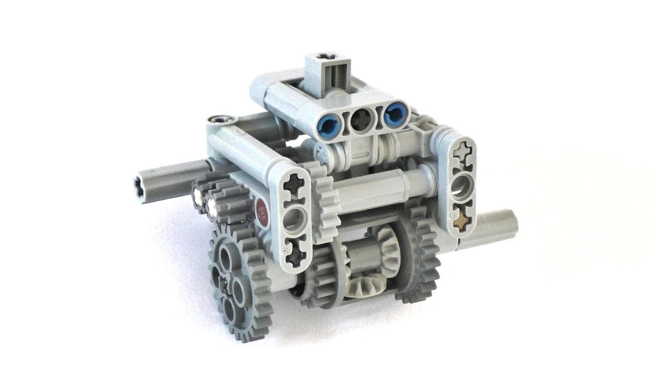 Lego Technic 3 Speed Differential Gearbox Instructions Lego