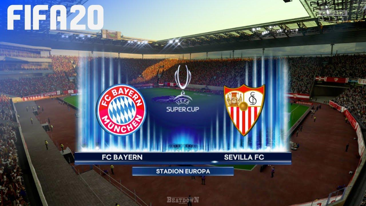 FIFA 20 - FC Bayern München vs. Sevilla FC | UEFA Super Cup