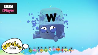 "Learn letter ""w"" with the Alphablocks Magic Words 