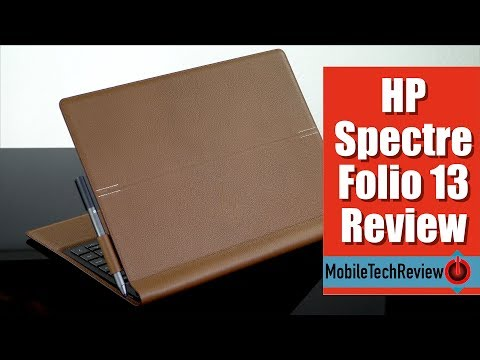 HP Spectre Folio 13 Review - Leather 2-in-1 Laptop