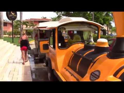 Cuba Varadero Tours De Train part.1 Embarquement à l'Hotel Roc Barlovento  Octobre 2017, Bus Tours