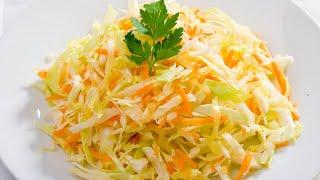 САЛАТ из КАПУСТЫ. Попробуйте и будете готовить этот салат каждый день!