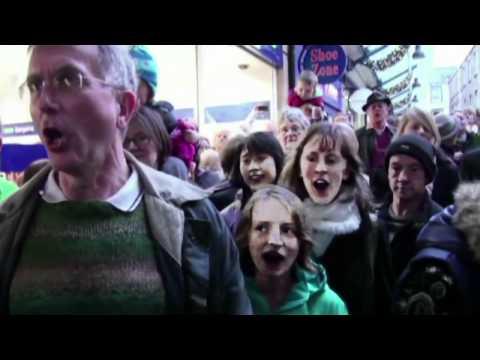 Lancaster Hallelujah Chorus Flashmob