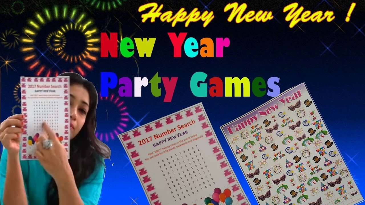new year games one minute party games
