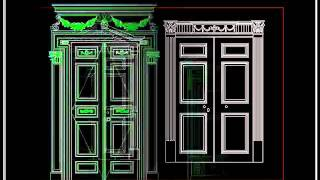 【autocad Block Download】european Classical Decorative Design .wmv