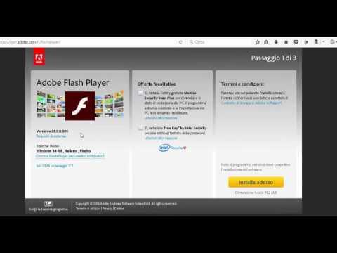 Come Aggiornare Adobe Flash Player [Windows]