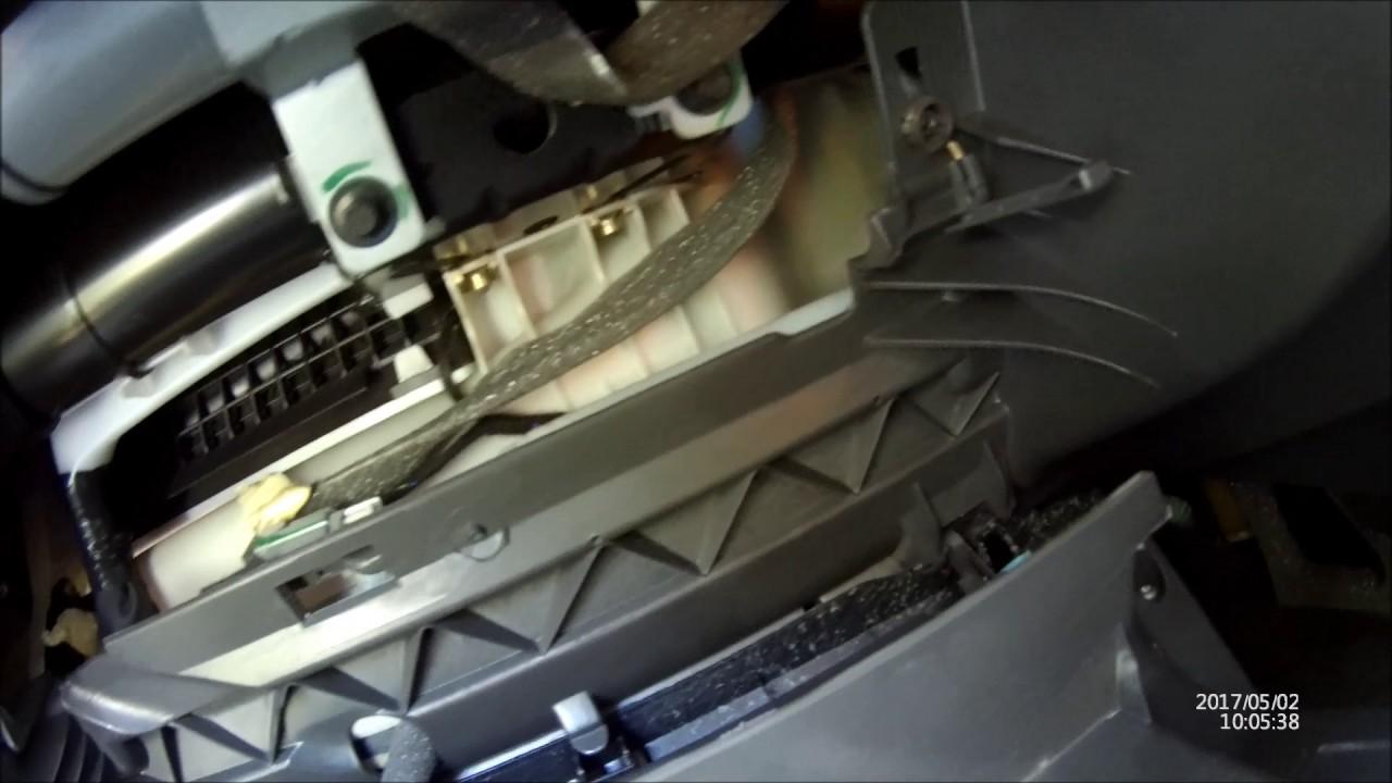 Volvo S60 2006 Glove Box Removal V70 Also Youtube Fuse