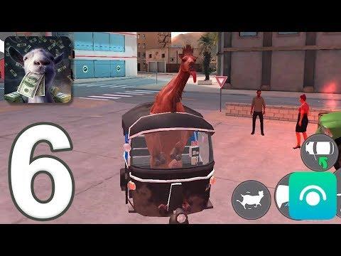 Goat Simulator: PAYDAY - Gameplay Walkthrough Part 6 (iOS, Android)