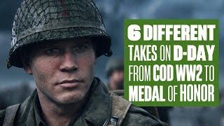 COD WW2 D-Day Comparison: which game did it best?