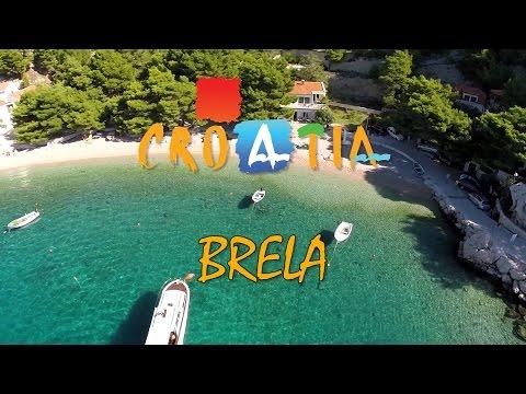 Chorvatsko - Brela 2014
