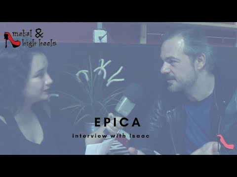 Interview with Isaac Delahaye from Epica 2017 | Metal & High Heels