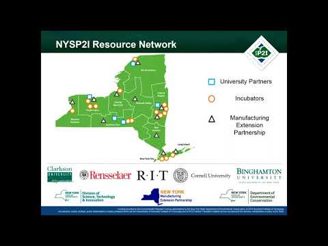 NYS Pollution Prevention Institute:Supporting Sustainable an