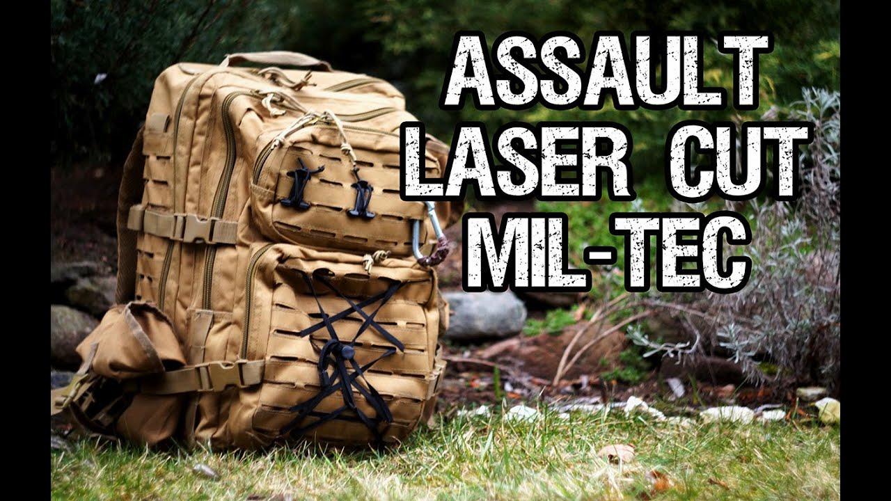 23ab6bbb6dd29 Laser Cut Assault - Plecak Taktyczny | Mil-tec Prezentacja i recenzja  sprzętu