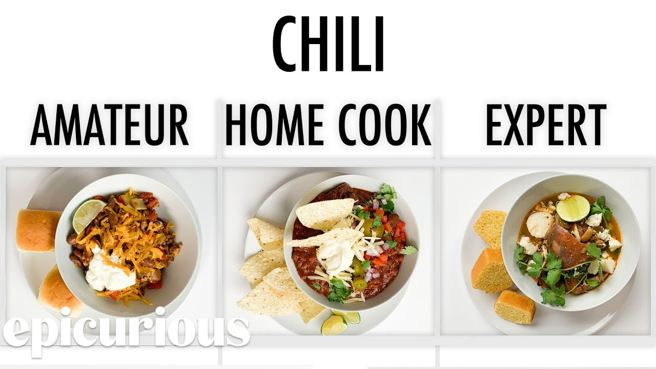 Download 4 Levels of Chili: Amateur to Food Scientist | Epicurious