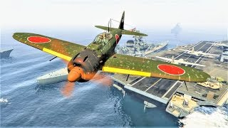 GTA 5 – Attack on Pearl Harbor (GTA 5 Short Film / Funny Moments)