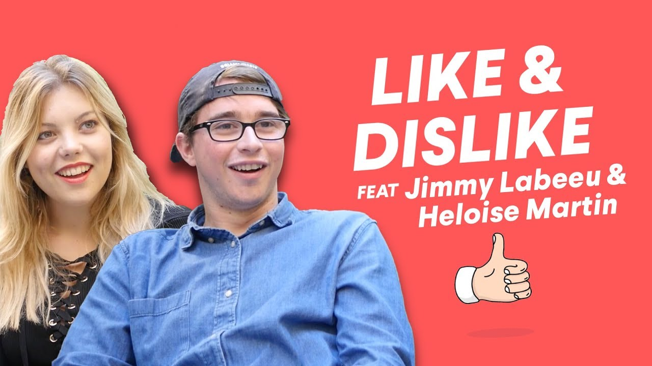 Jimmy Labeeu & Heloise Martin - Like & Dislike avec Bigflo & Oli & Tamara Vol. 2