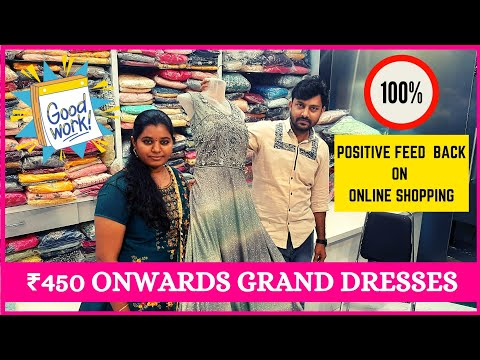 ₹450 Onwards Grand Dresses | Vashtra Bridal Boutique | Chennai @ Just Know Fashion