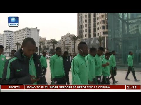 CHAN Eagles Arrive In Nigeria Pt.1 |Sports Tonight|