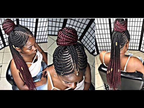 #260. TRIBAL MOHAWK BRAIDS