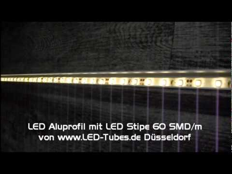 led streifen im aluprofil wasserfeste led f r aussen. Black Bedroom Furniture Sets. Home Design Ideas