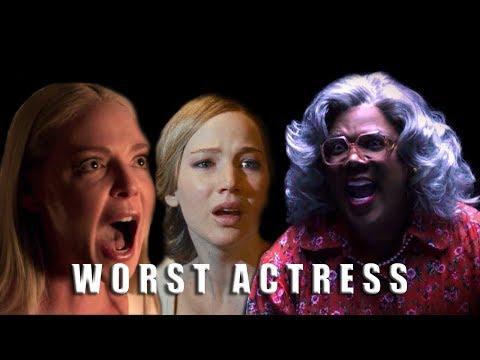 Razzies 2018: Nominees for Worst Actress