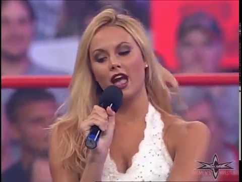 (720pHD): WCW Nitro 07/03/00 - Daffney, Miss Hancock, David Flair & Crowbar Segment