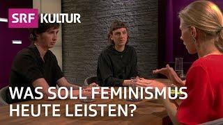 Sternstunde Philosophie: Wohin steuert der Feminismus? Vier Philosophinnen im Gespräch | SRF Kultur