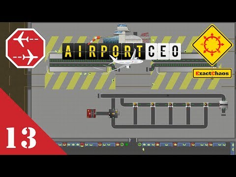Airport CEO Let's Play 13 - Advanced Baggage Handling