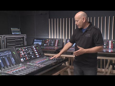 Yamaha RIVAGE PM: New System Applications, both larger and smaller!