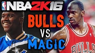 Nba 2k16 Gameplay | 95-96 Chicago Bulls Vs 94-95 Orlando Magic