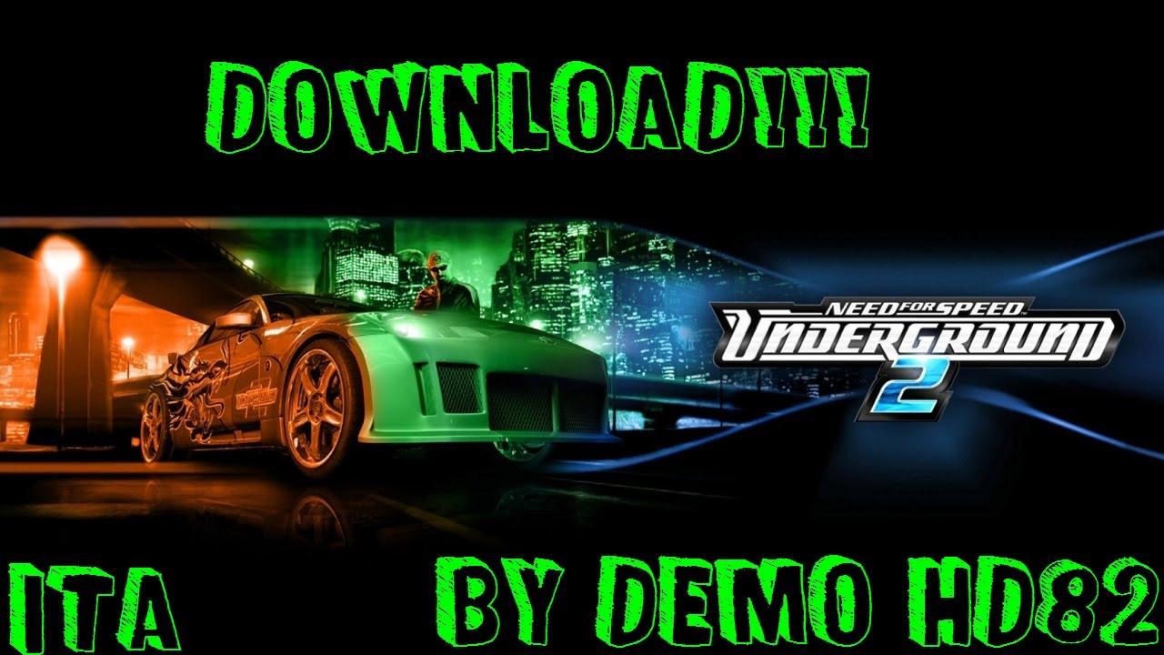 download crack need for speed underground 2 pc ita