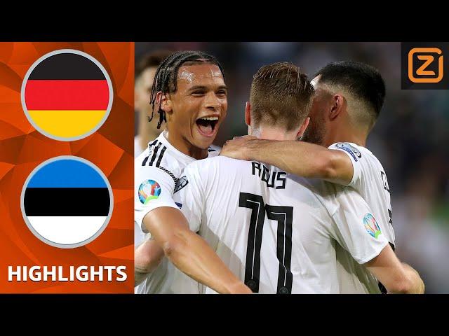 SWINGEND Duitsland boekt MONSTERZEGE | Samenvatting Duitsland vs Estland | Kwalificatie EK 2020