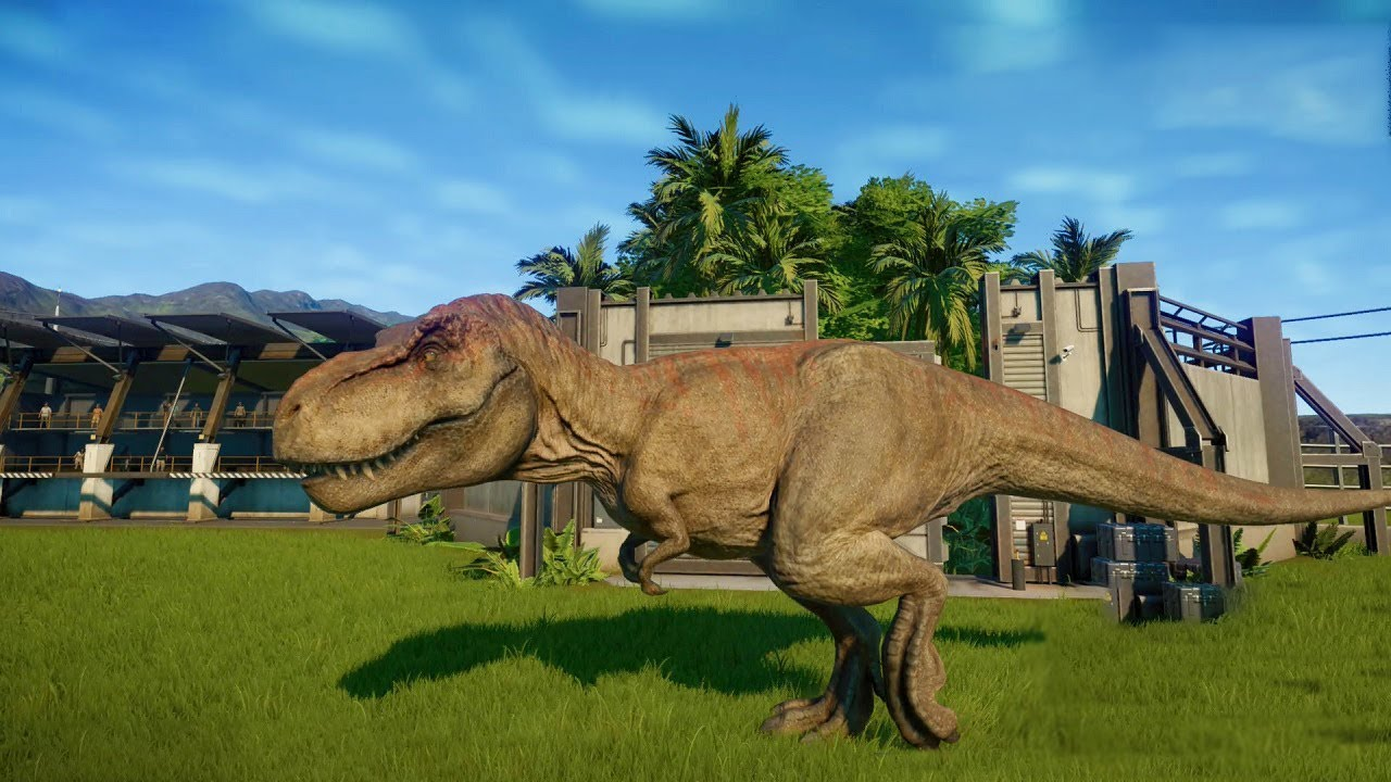 Jurassic World Evolution Game #9: Khủng long bạo chúa tyranosaurus Rex