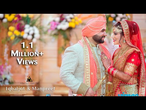 Din Shagna Da Chadeya Cinematic Wedding Highlight  Iqbaljot & Manpreet  Sunny Dhiman Photography