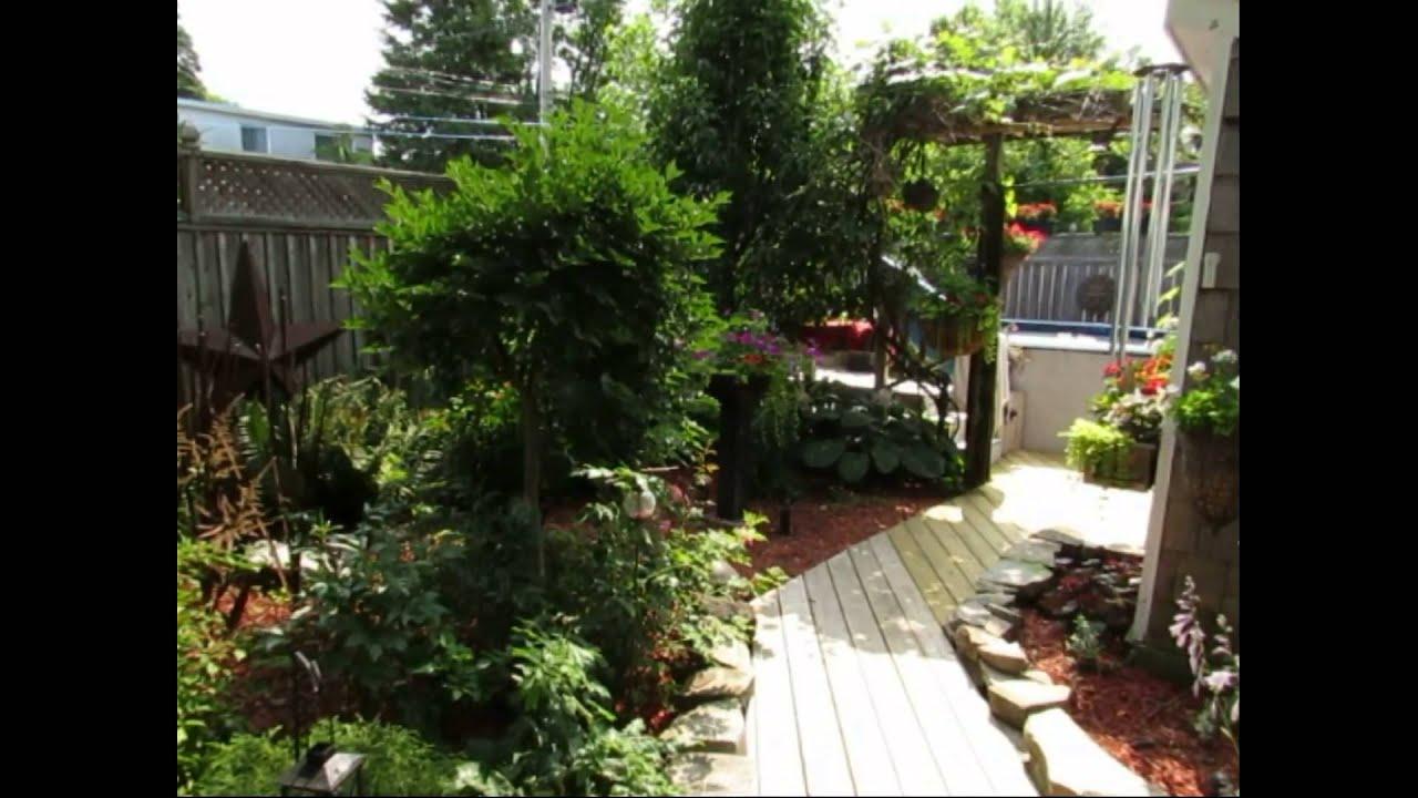 my backyard garden tour july 2014 mike laking youtube