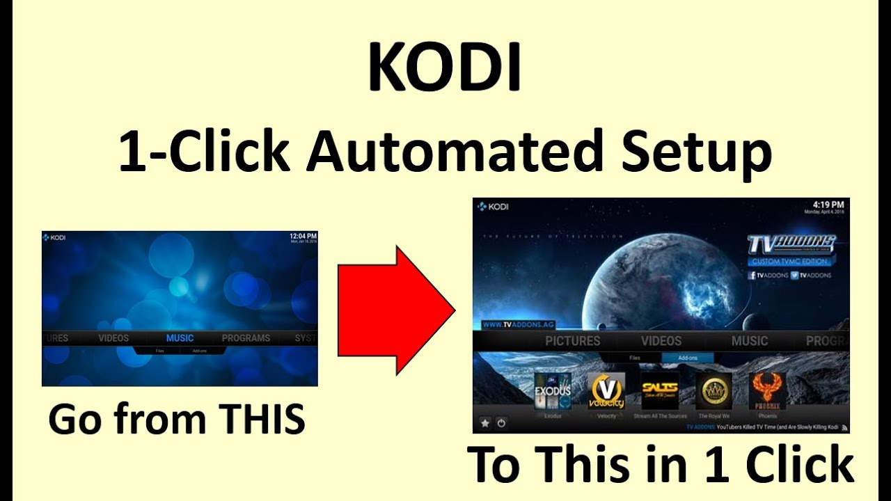 Easy Kodi Setup