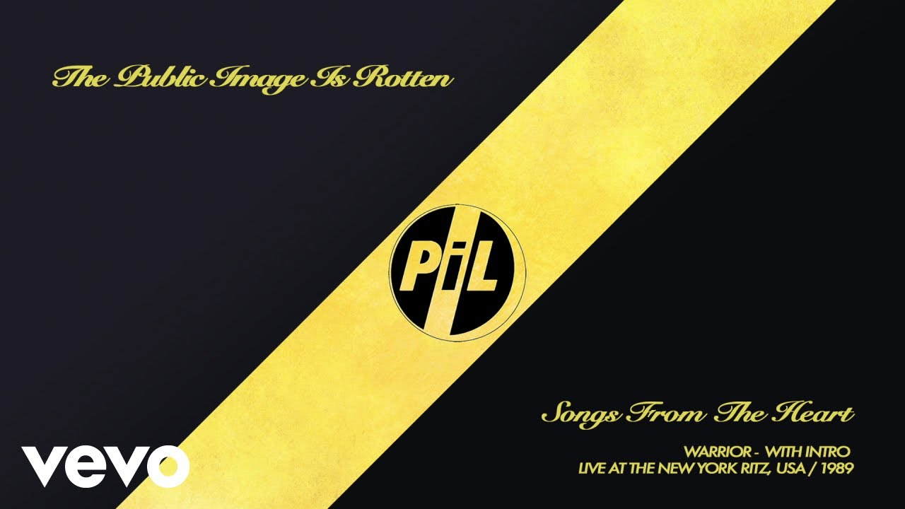 Public Image Limited - Warrior (Live At The New York Ritz, USA / 1989)