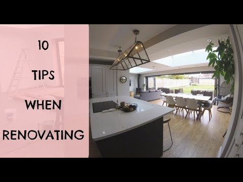 10 TIPS WHEN RENOVATING YOUR HOME | THINGS I WISH WE KNEW BEFORE STARTING OUR BUILD KERRY WHELPDALE