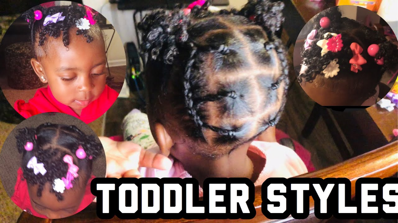 EASY PROTECTIVE HAIRSTYLE FOR SHORT HAIR | BLACK KIDS ...