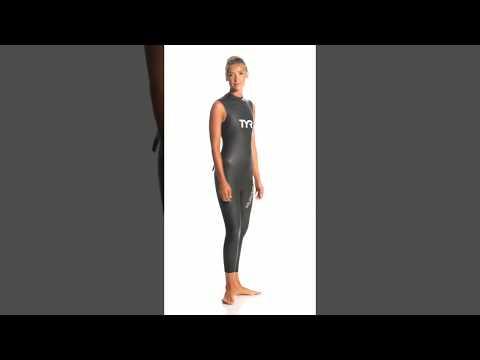 TYR Women s Hurricane Cat 1 Sleeveless Triathlon Wetsuit ... 316c75361