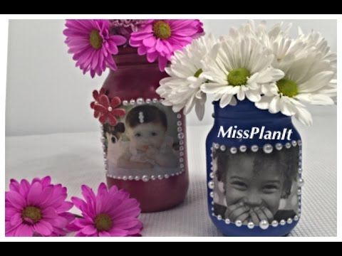 Diy Quick Tip Personalized Mason Jar Mothers Day Gift For Under 15 00 Youtube