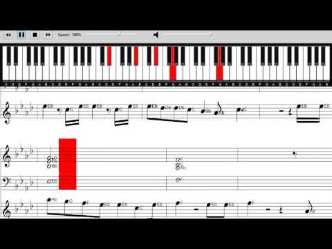 Ellie Goulding Love Me Like You Do Sheet Music Piano Tutorial