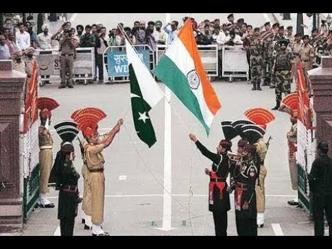 Amritsar Wagah Border parade ceremony, Republic day 2018 Atari border parade