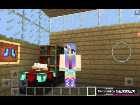Minecraft-LITTLE KUTIE GETS GROUNDED IN HOME!