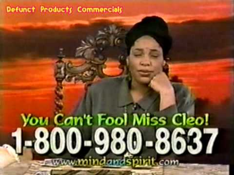 Miss Cleo Commercial (1998)