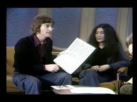 THE DICK CAVETT SHOW John Lennon, Yoko Ono, and Shirley MacLaine