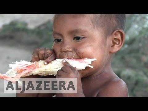 Venezuelans face severe food shortage