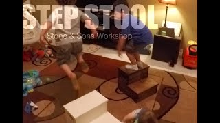 How Many Tools Does It Take To Build A Step Stool?