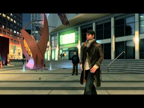 Watch Dogs - Aisha Tyler gameplay